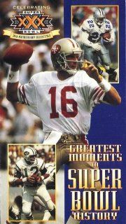 Greatest Moments in Super Bowl History Joe Montana, Emmitt Smith, Joe Namath Movies & TV