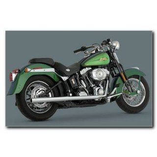 Vance & Hines 16793 Softail Duals Exhaust for Harley Davidson Softail Automotive