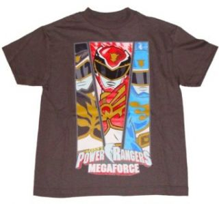 Power Rangers MegaForce Boys T shirt (4 16) (L (10/12)) Clothing