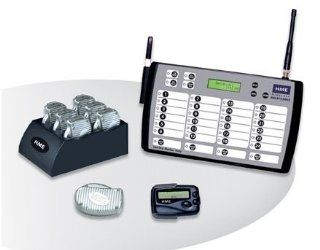 6 RESTAURANT PAGERS / SERVER PAGING SYSTEM/ STARTER KIT HOTEL NICE AND NEW