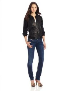 Diesel Women's L Casol Leather Jacket at  Women�s Clothing store: Leather Outerwear Jackets