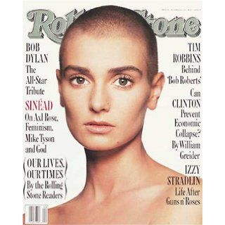 Rolling Stone Magazine, Issue 642, October 1992, Sinead O'Connor Cover Jann S Wenner Books
