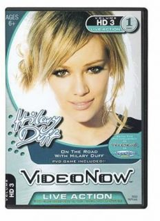 Videonow Personal Video Disc On the Road with Hilary Duff Clothing