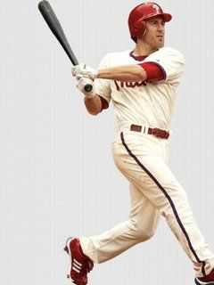Wallpaper Fathead Fathead MLB Players & Logos Chase Utley Philadelphia Phillies 5151038
