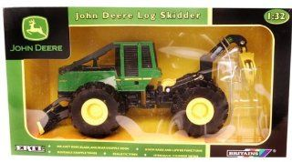 John Deere 1:32 Scale 648GIII Log Skidder Case Of 3: Toys & Games