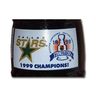 Dallas Stars Hockey Stanley Cup Champs 1999 Coca Cola Bottle (Revised) Entertainment Collectibles