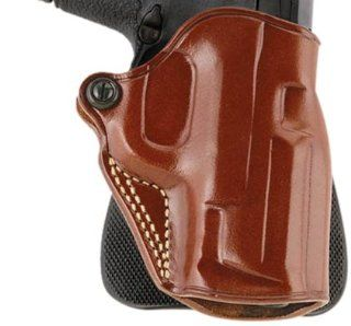 Galco Speed Paddle Holster for S&W L FR 686 3 Inch (Tan, Right hand)  Airsoft Stomach Band Holsters  Sports & Outdoors