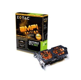Zotac NVIDIA GeForce GTX 660 AMP Edition 2GB GDDR5 2DVI/HDMI/DisplayPort PCI Express Video Card ZT 60902 10M Computers & Accessories