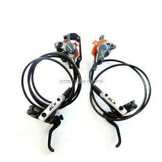 NEW Shimano SLX BL M666/BR M666 Hydraulic Disc Brake System Set F/R MTB bike  Bike Shifters And Parts  Sports & Outdoors
