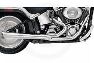 Supertrapp 828 71576 Supermeg 2 into 1 Exhaust for Harley Davidson Touring Automotive
