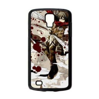 Happy Xmas Mikasa  Attack On Titan/Shingeki No Kyojin Hot Japanese Anime Durable Case Cover For Samsung Galaxy s4 Active i9295 Cell Phones & Accessories