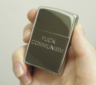 F*ck Communism Zippo Lighter   Comic Preacher & Y by Garth Ennis and Steve Dillon: Everything Else