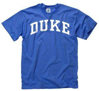 Duke Blue Devils Youth Royal Arch T Shirt  Sports Fan T Shirts  Sports & Outdoors