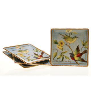 Certified International Botanical Birds Dinnerware Collection