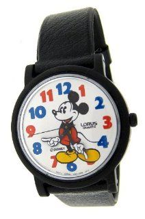 "CLASSIC LORUS QUARTZ MICKEY MOUSE ""MOVING HANDS"" WATCH at  Men's Watch store."