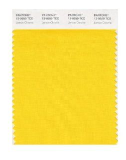 PANTONE SMART 13 0859X Color Swatch Card, Lemon Chrome   Wall Decor Stickers