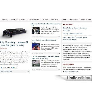 Sony playstation 4, Xbox 720 games, console and hardware news: Kindle Store: Zahr Sheikh