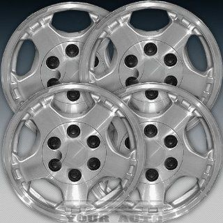 1999 2002 Chevy Silverado 16X7 Factory Replacement Sparkle Silver Wheel Set of 4 Automotive