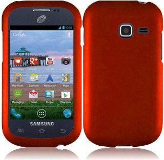 For Samsung Galaxy Discover S730g Hard Cover Case Orange Accessory Cell Phones & Accessories