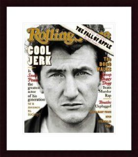 Rolling Stone Cover of Sean Penn / Rolling Stone Magazine Vol. 731, April 4, 1996, Movie Print by Mark Seliger   Unframed Prints