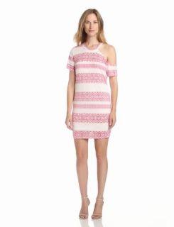 Pencey Standard Women's One Shoulder Dress, Afghani Stripe, Medium at  Women�s Clothing store