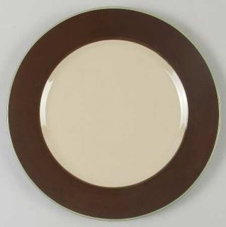 Jaclyn Smith Turkish Floral Brown Dinner Plate, Fine China Dinnerware   Traditio