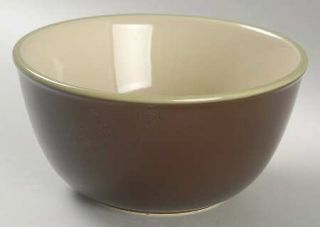 Jaclyn Smith Turkish Floral Brown Soup/Cereal Bowl, Fine China Dinnerware   Trad