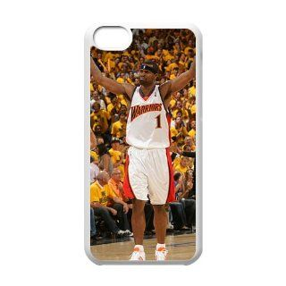 2013 Fashion DIY NBA Mobile Case For iPhone 5C with Stephen Jackson golden state warriors Poster Design On Mobile Back Series One  White Shell: Cell Phones & Accessories