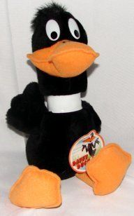 "12"" Looney Tunes Daffy Duck Plush Toys & Games"