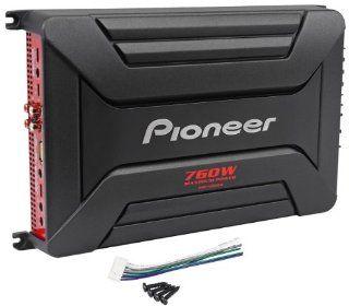 Pioneer GM A6604 4 Channel 760 Watts Peak/360 Watts RMS Bridgeable Car Amplifier