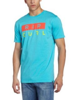 Rip Curl Men's Aggro Watu Short Sleeve Custom T Shirt at  Men�s Clothing store: Fashion T Shirts