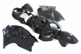 Black Injection Fairing Bodywork for Suzuki GSX1300R Hayabusa 99 00 01 02 03 04 05 06 07 GSXR: Automotive