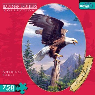 Cameo Collection American Eagle 750 Pieces Jigsaw Puzzle Toys & Games