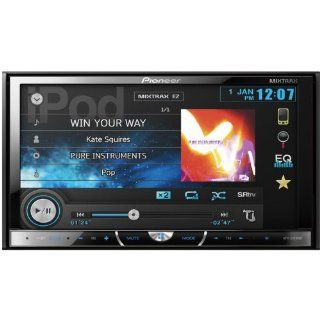 """Pioneer Double DIN In Dash 7"""" Touchscreen LCD USB/DVD/ Car Stereo Receiver w/ Bluetooth & Pandora and Ipod Support, Intuitive User Interface And Touchscreen Controls, 8 Band Graphic Equalizer Auto, Sonic Center Control, Advanced Sound Retriever"""
