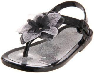 Natural Steps NSS781 Thong Sandal (Toddler/Little Kid/Big Kid),Black,2 M US Toddler Shoes