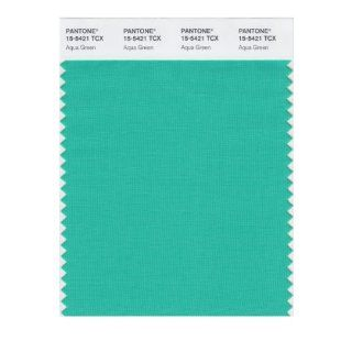 PANTONE SMART 15 5421X Color Swatch Card, Aqua Green   Wall Decor Stickers