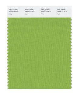 PANTONE SMART 16 0235X Color Swatch Card, Kiwi   House Paint