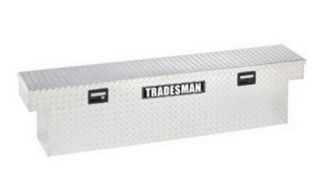 Tradesman Full size Slim Line Design Truck 70 in. Aluminum Cross Bed Tool Box   Truck Tool Boxes