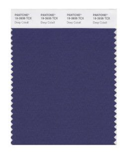 PANTONE SMART 19 3935X Color Swatch Card, Deep Cobalt   Wall Decor Stickers