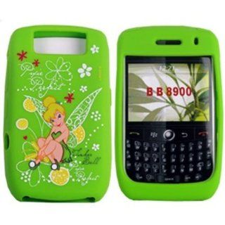Disney Skin Cover for BlackBerry Curve 8900, Tinkerbell Cool Green Electronics