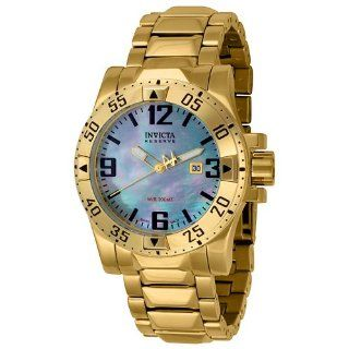 Invicta Men's 6244 Reserve Collection 18k Gold Plated Stainless Steel Watch Invicta Watches