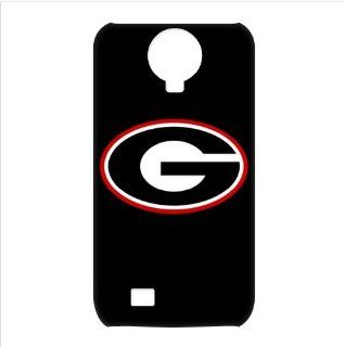 Awesome NCAA Georgia Bulldogs Logo Samsung Galaxy S4 I9500 3D Waterproof Designer Hard Case Cover Protector Cell Phones & Accessories