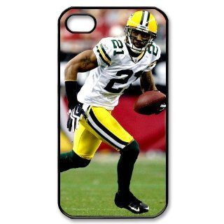 Packers logo Charles Woodson poster designs hard back case for iPhone 4 4s: Cell Phones & Accessories