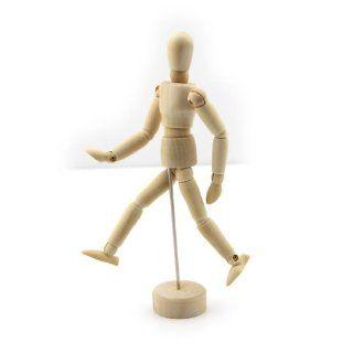 5.5 Inch Wood Manikin Wooden model Comic Sketch puppets