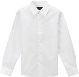 Gino Formal White Dress Shirt for Boys From Baby to Teen Infant And Toddler Button Down Shirts Clothing