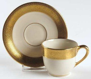Lenox China Westchester Flat Demitasse Cup & Saucer, Fine China Dinnerware: Drinkware Cups With Saucers: Kitchen & Dining
