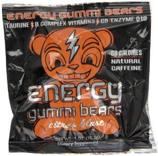 Energy Gummi Bears by Loud Truck Citrus Blast, 24 Count  Gummy Candy  Grocery & Gourmet Food