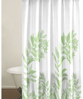 City Scene Tokyo Leaf Shower Curtain   Shower Curtains