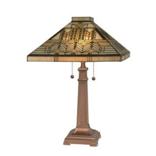 Dale Tiffany Mission Style Table Lamp   Table Lamps