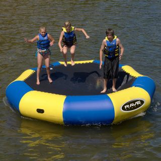 13 ft. RAVE Sports Bongo Water Bouncer Package   Water Trampolines